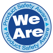 Product Safety Aware Badge